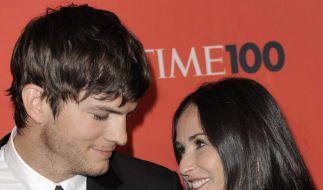 Ashton Kutcher und Demi Moore (Foto)