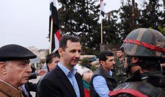 Assad bricht Versprechen für Waffenruhe (Foto)