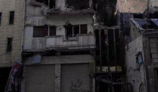 Assad droht mit Militäroffensive (Foto)