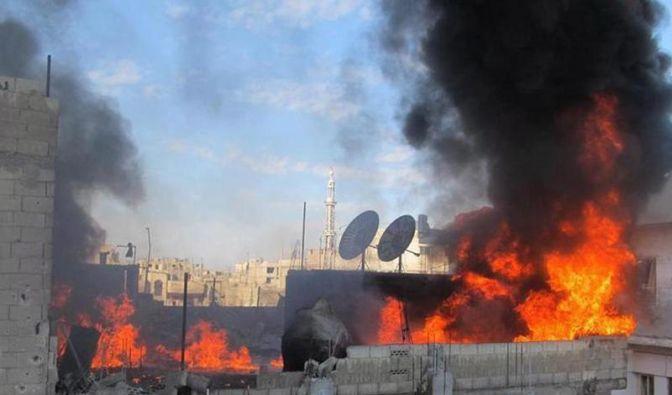 Assad-Truppen dringen in Rebellenviertel der Stadt Homs ein (Foto)