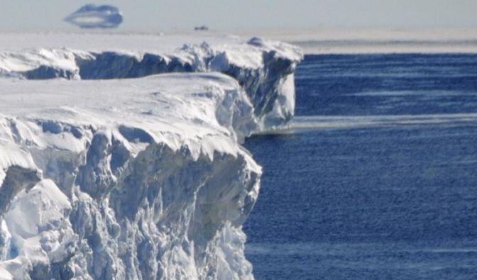 Atlantik vor der Antarktis wird immer wärmer (Foto)