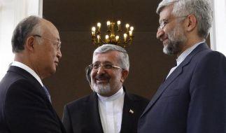 Atom-Abkommen zwischen IAEA und Iran nimmt Form an (Foto)