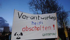 Atom-Treffen bei Merkel (Foto)