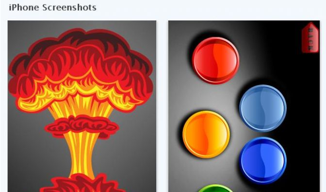 Atomic Fart App (Foto)