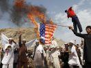 Auch in Afghanistan machen Demonstranten ihrem Ärger über den Mohammed-Film Luft. (Foto)
