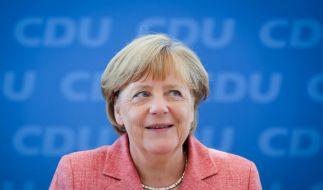 Auch Angela Merkel braucht mal ein wenig Entspannung. (Foto)