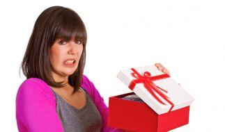 Auch ein gut durchdachtes Geschenk kann mal daneben gehen. (Foto)