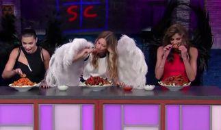 Auch Engel müssen essen. (Foto)