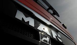 Auch beim von der Finanzkrise schwer gebeutelten LKw-Hersteller MAN brummt es wieder. (Foto)