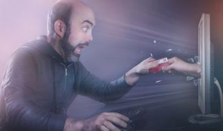 Auch im Internet ist man vor Kriminellen nicht sicher. (Foto)