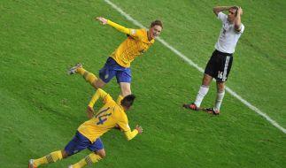 Auch Kapitän Philipp Lahm konnte sich nicht gegen die drohende Niederlage stemmen. (Foto)