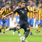 Auch aus der Liste der potenziellen Schützen gestrichen: Bayern-Stürmer Mario Mandzukic.