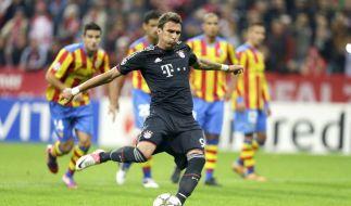 Auch aus der Liste der potenziellen Schützen gestrichen: Bayern-Stürmer Mario Mandzukic. (Foto)