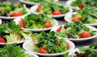 Auch Salat ist nicht immer das beste gegen den Hunger. (Foto)