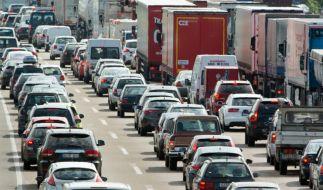 Auch während eines Staus gilt die Straßenverkehrsordnung. Vergehen werden mit Bußgeldern oder sogar Fahrverbot geahndet. (Symbolbild) (Foto)