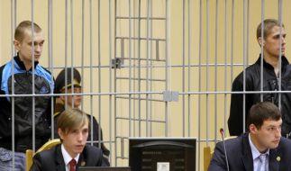 Auch zweites Todesurteil in Weißrussland vollstreckt (Foto)