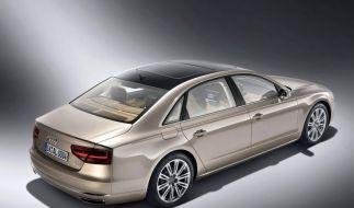 Audi A8 mit langem Radstand und W12-Motor (Foto)