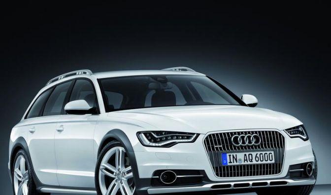 Audi macht den A6 Avant fit fürs Gelände (Foto)