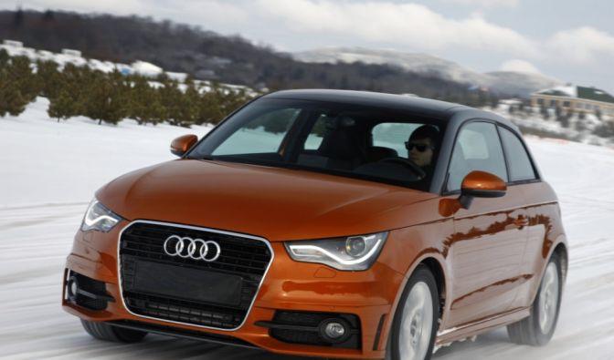 Audi probt den Zwergenaufstand (Foto)