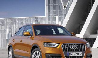 Audi Q3 ist «Lieblingsauto der Deutschen» (Foto)