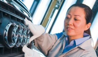 Audi wächst in China weiter (Foto)