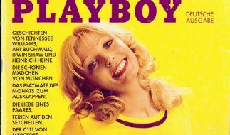 Auf dem Cover der erster deutschen Playboy-Ausgabe posierte Gaby Heier. (Foto)