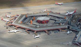 Auf dem Flughafen Berlin Tegel wurde ein mutmaßlicher Terrorist verhaftet. (Foto)