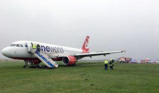 Auf dem Flughafen auf der Insel Sylt hat es am Samstag einen Zwischenfall mit einer Maschine von Air Berlin gegeben. (Foto)
