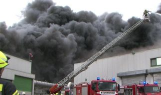 Auf dem Gelände von Wiesenhof in Lohne gab es am Ostermontag ein Feuer. (Foto)