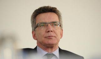 Auf Krawall gebürstet: Bundesverteidigungsminister Thomas de Maiziere (CDU) (Foto)