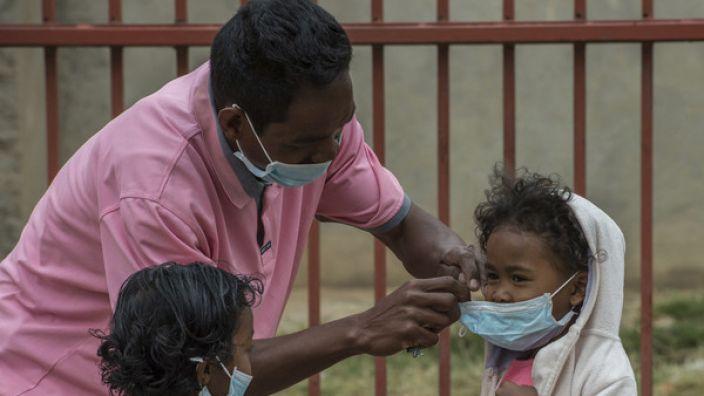Auf Madagaskar erkranken immer mehr Menschen an der Lungenpest. (Foto)