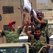 Aufständische in Aleppo: In den größten syrischen Städten tobt die Entscheidungsschlacht zwischen Militär und Aufständischen.