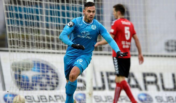 Auftakt am 26. Spieltag der 3. Liga für die Stuttgarter Kickers gegen Holstein Kiel. (Foto)