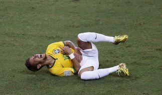 Aus dem Turnier gekickt: Superstars Neymar. (Foto)