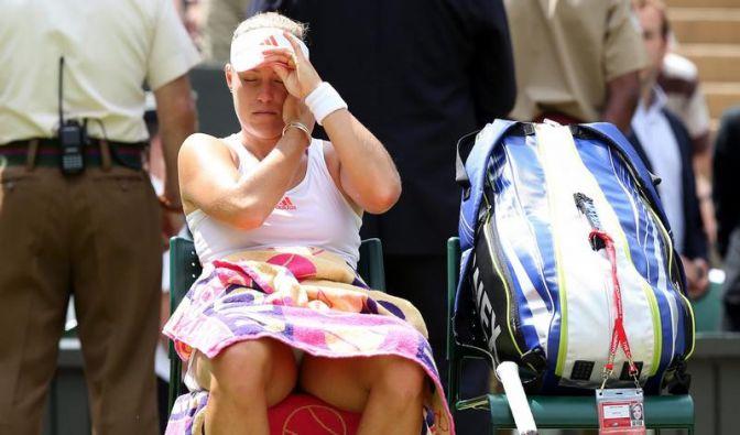 Aus der Traum: Kerber im Wimbledon-Halbfinale raus (Foto)