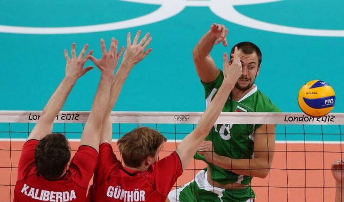 Aus für deutsche Volleyballer: 0:3 gegen Bulgarien (Foto)