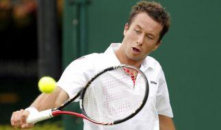 Aus für Halle-Sieger Kohlschreiber in Wimbledon (Foto)