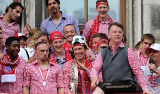 Aus für van Gaal: Vom Feierbiest zum Fehlerbiest (Foto)