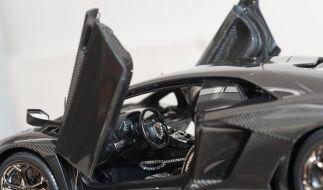 Aus Gold und Platin: Teuerstes Modellauto der Welt (Foto)