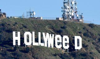 """Aus Hollywood wurde über Nacht """"Hollyweed"""". (Foto)"""