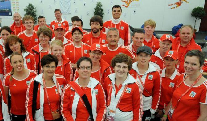 Aus Spaß an der Freude - Freiwillige bei der WM (Foto)