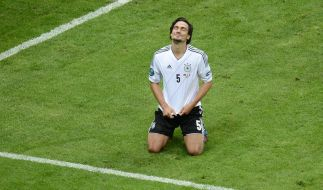 Aus der Traum: DFB-Verteidiger Mats Hummels ist nach der Pleite gegen Italien enttäuscht. (Foto)