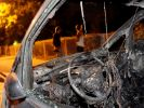 Ausgebranntes Auto (Foto)