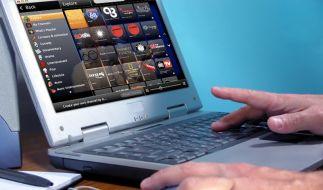 Auslandsfernsehen auf dem Computer (Foto)