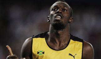 Ausnahmesprinter Usain Bolt ist das Aushängeschild von Puma. (Foto)