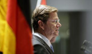Außenminister Westerwelle (Foto)