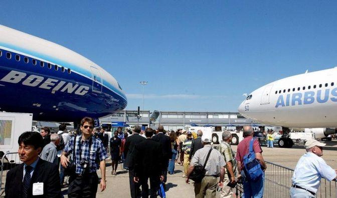 Aussteller und Besucher sind mit Sorgen zur Luftfahrtmesse nach Le Bourget gekommen. (Foto)