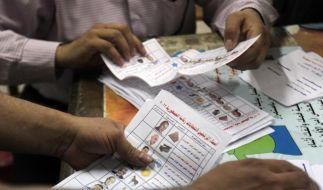 Auszählung der Stimmen in Ägypten hat begonnen (Foto)