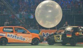 Autoball-EM 2012 bei Pro7: Italien schlägt Deutschland im Finale. (Foto)