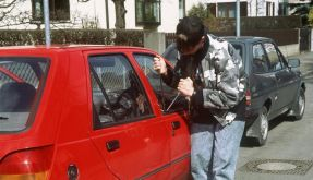 Autodiebstahl (Foto)